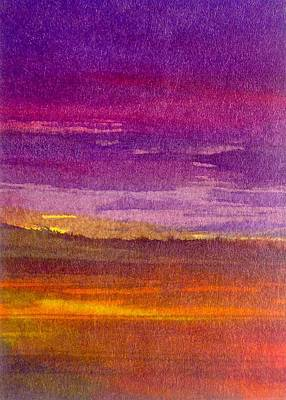 Painting - Purple Day by Paul Pulszartti
