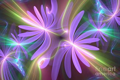 Purple Dream Print by Svetlana Nikolova