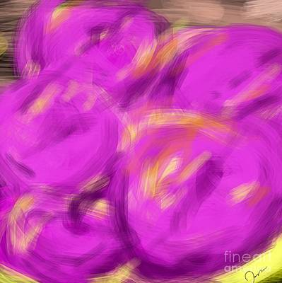 Etc. Digital Art - Purple Fruit by James Eye