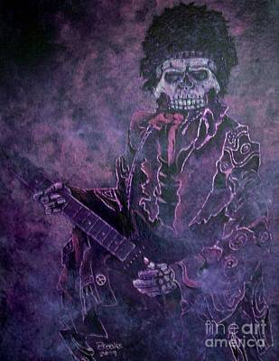 Artist Richard Brooks Painting - Purple Haze by Richard Brooks