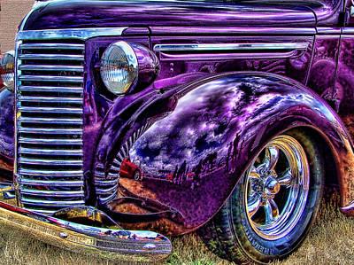 Purple Print by Ron Roberts