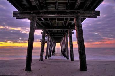Purple Sunrise Print by Dan Myers