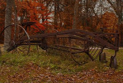 Barns Digital Art - Purpose Served by Jack Zulli