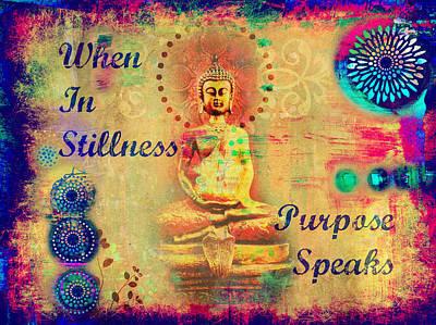 Purpose Speaks Print by Tara Catalano