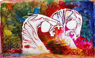 Pushkar Carnival Print by Sumit Banerjee