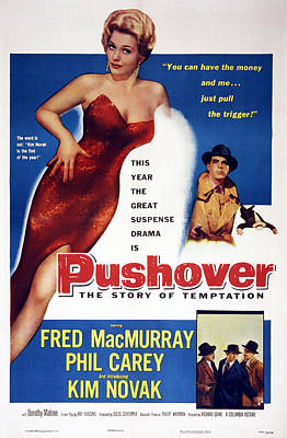 Pushover, Top From Left Kim Novak, Fred Print by Everett
