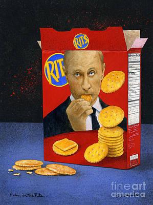 Putin Painting - Putin On The Rits... by Will Bullas