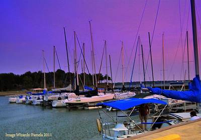 Putting The Sails To Bed At Sunset Original by ARTography by Pamela Smale Williams