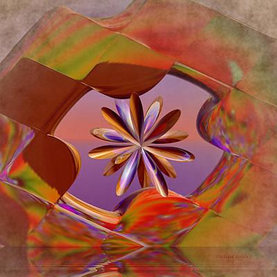 Cross Digital Art Digital Art - Puzzle Of Life by Deborah Benoit