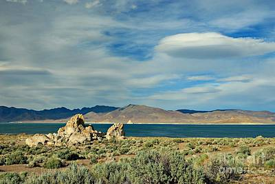Pyramid Lake Print by Benanne Stiens