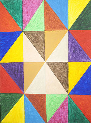Basic Painting - Pyramids 2 by Stormm Bradshaw