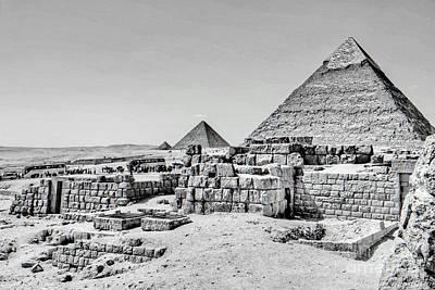 Pyramids  Print by Karam Halim