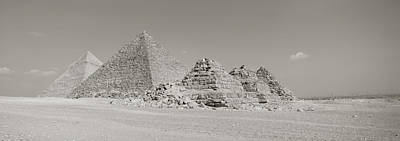 Pyramids Of Giza, Egypt Print by Panoramic Images