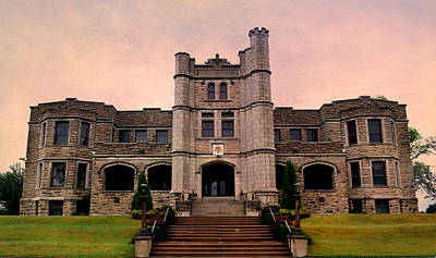 Haunted House Photograph - Pythian Castle by Deena Stoddard