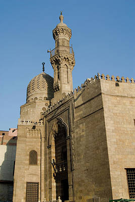 Northern Africa Photograph - Qait-bey Muhamadi Mosque Or Burial by Nico Tondini