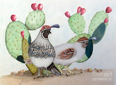 Quailudes Print by Patty Poole