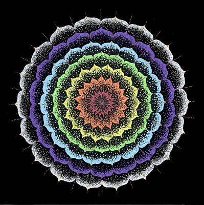 Quan Yin's Healing Print by Keiko Katsuta