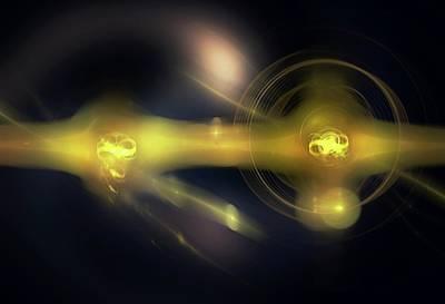 Quantum Computing Print by Equinox Graphics