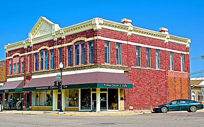 1884 Digital Art - Quartzsite Building Built In 1884 In Pipestone-minnesota by Ruth Hager