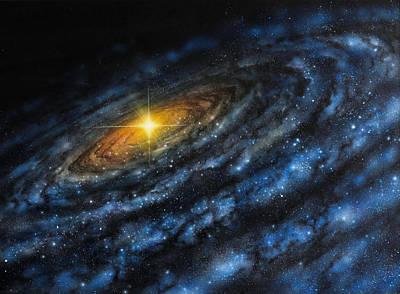 Painting - Quasar by Don Dixon
