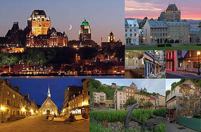 Quebec City Print by Juergen Roth