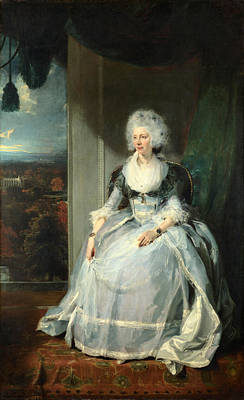 Thomas Lawrence Painting - Queen Charlotte by Thomas Lawrence