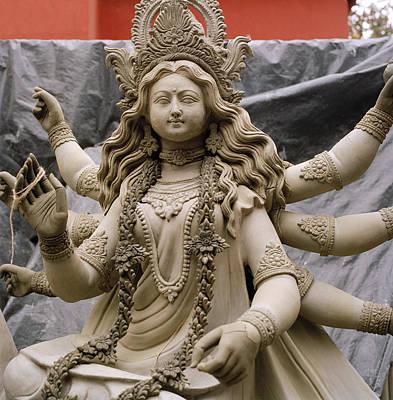 Queen Durga Print by Shaun Higson