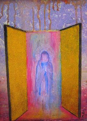 Christian Painting - Queen Of Heaven by Mary Ellen Frazee