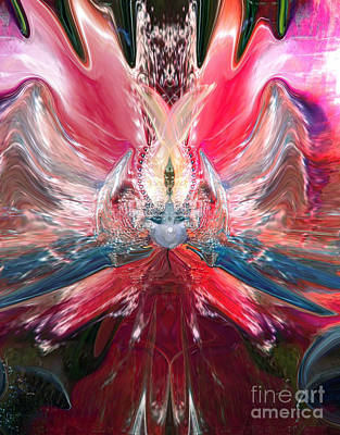 Universe Digital Art - Queen Of Somewhere  Not Earthly by Sherri  Of Palm Springs