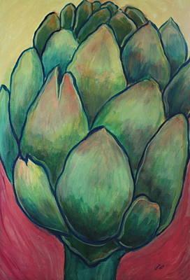 Queen Of Thistles Original by Gitta Brewster