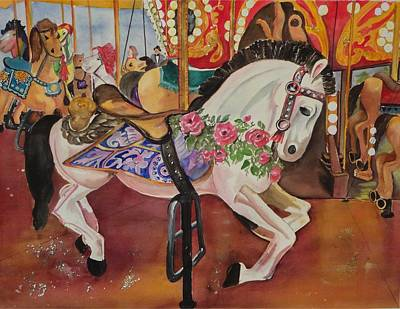 Queen Rose Original by Barbara Koepsell