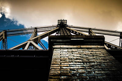 Queensboro Bridge Print by Joshua Ayers