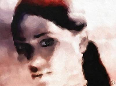 Portrait Digital Art - Question by Gun Legler
