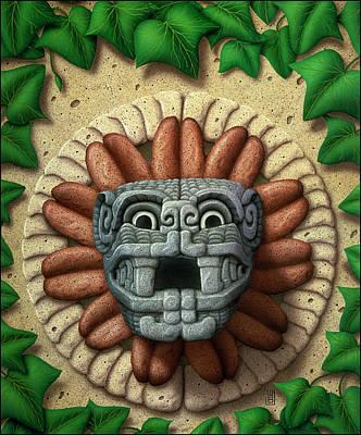 Quetzalcoatl Print by WB Johnston