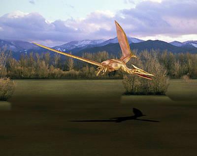 Paleozoology Photograph - Quetzalcoatlus Pterosaur by Friedrich Saurer