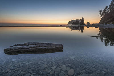 Quiet Alone And Still Print by Jon Glaser