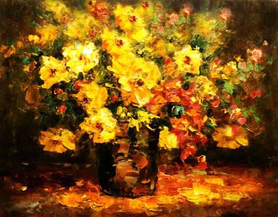 Quiet Desires - Impressionism  Print by Georgiana Romanovna