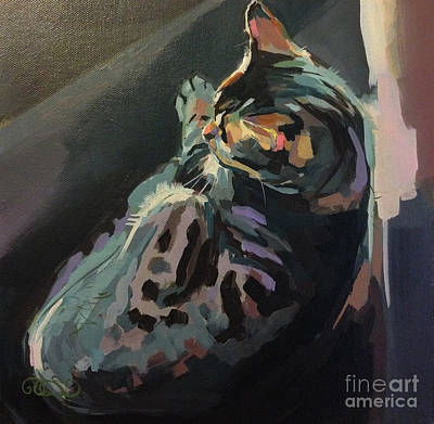 Quiet Print by Kimberly Santini