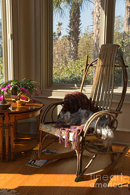 Rocking Chairs Photograph - Quiet Moment by Louise Heusinkveld