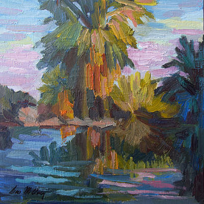 Canyon Painting - Quiet Reflections by Diane McClary