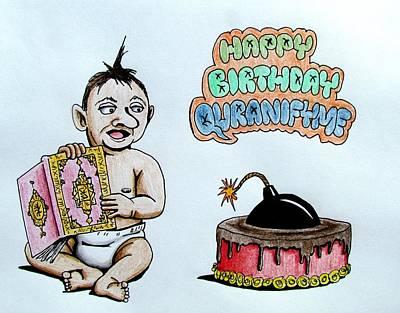 Quranifyme's Birthday Original by Agnostic Artist