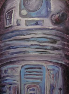 R2 Abstract Print by Howard Perry