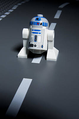 Lego Photograph - R2-d2 by Samuel Whitton