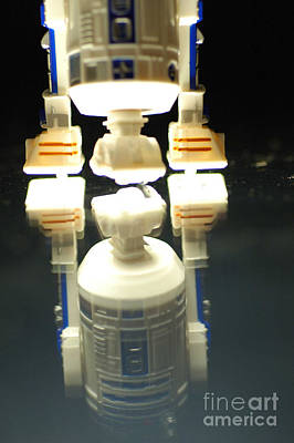 Jet Star Photograph - R2-d2 Toy by Micah May