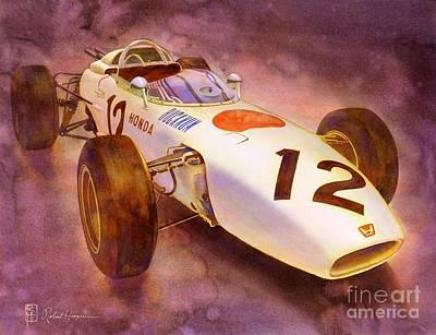 Honda Painting - Ra272 by Robert Hooper