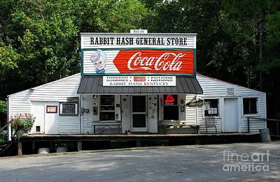 Coca Cola Sign Photograph - Rabbit Hash by Mel Steinhauer