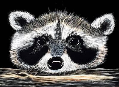 Raccoon Mixed Media - Raccoon by Lyn DeLano