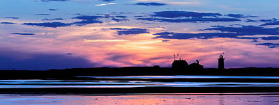 Race Point Lighthouse Silhouette  Print by Bill Wakeley