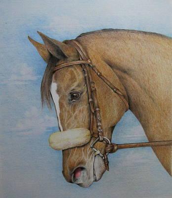 Zenyatta Drawing - Zenyatta by Catherine Howley