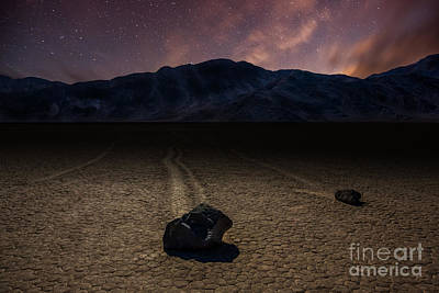 Racetrack Playa Print by Deryk Baumgaertner